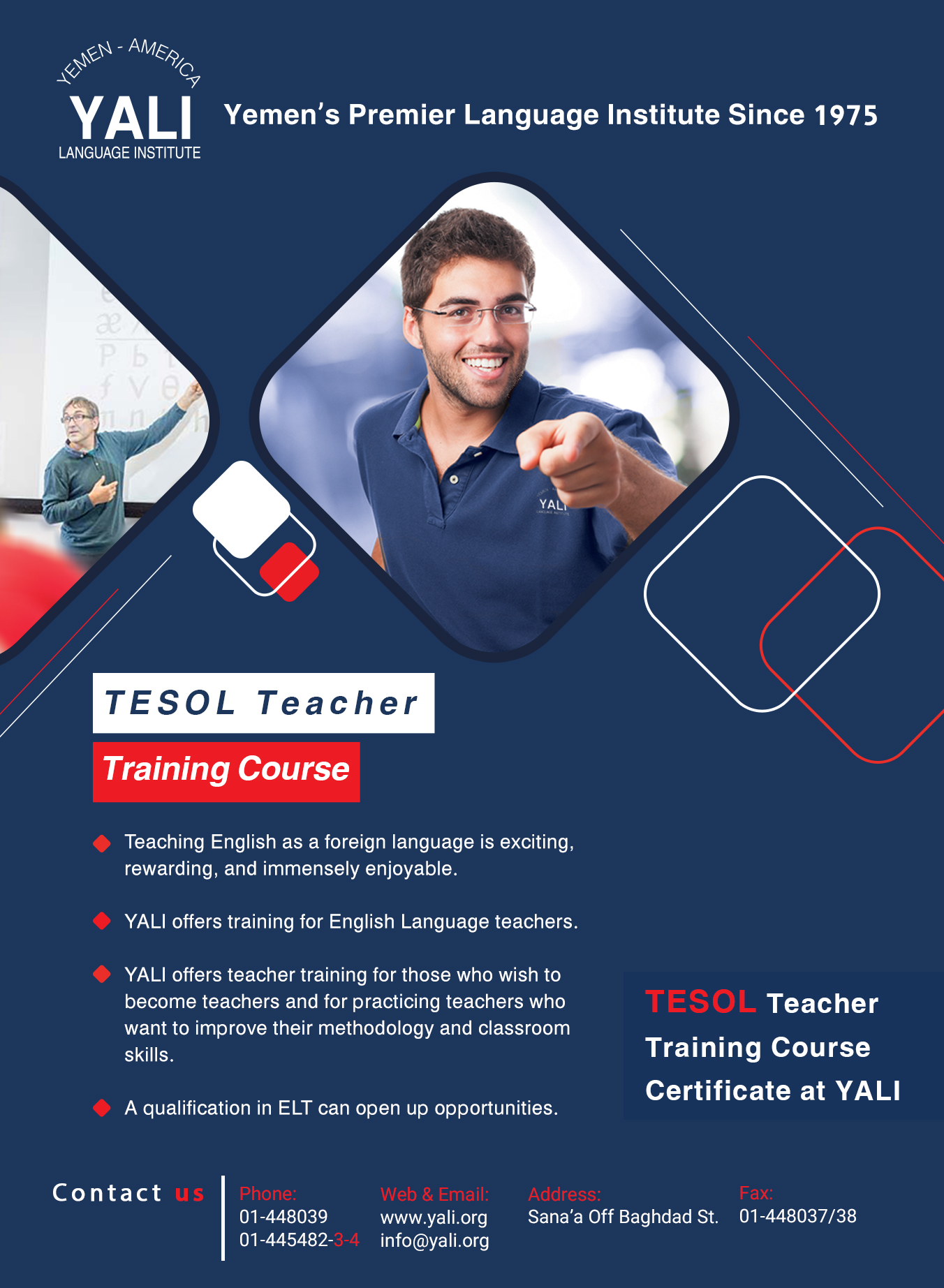 TESOL Program Brochure